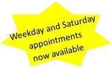 We offer Saturday speech therapy appointments